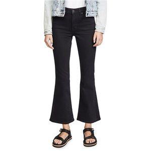 SLVRLAKE Crystal Kick Flare Jeans